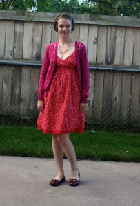 Thrift Style Thursday – Red Hot Summer